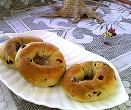 蔓越莓面包圈#做道好菜,自我宠爱!#的做法
