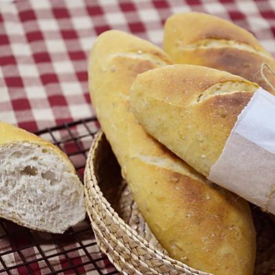 【无油无糖全麦面包】——COUSS CM-1200厨师机出品