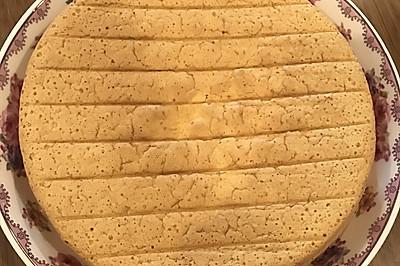 家庭版8寸戚风蛋糕