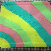 只为测试新刀—彩虹蛋糕卷的做法图解12