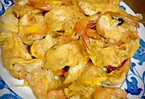 颜值爆表-甜蛋基围虾的做法