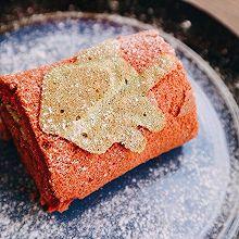 圣诞红丝绒蛋糕卷