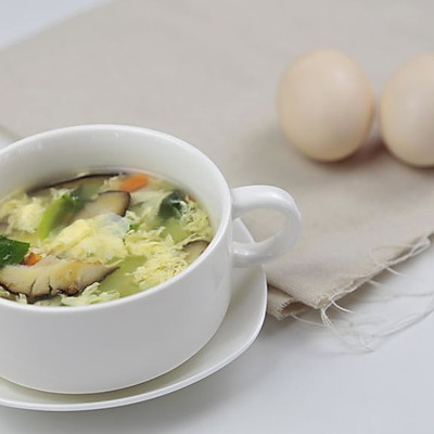 简单易做又健康 芙蓉鲜蔬汤