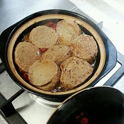 砂锅带鱼素鸡煲的做法 步骤5