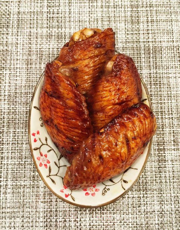 烤鸡翅(微波炉版)的做法