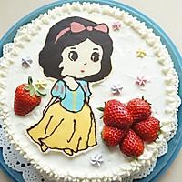 白雪公主生日蛋糕——长帝CKTF-32GS试用的做法图解14