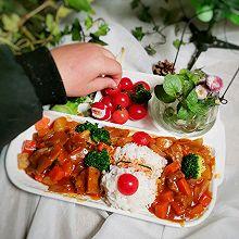 """#甜蜜暖冬,""""焙""""感幸福#零厨艺也能做的咖喱牛腩饭"""