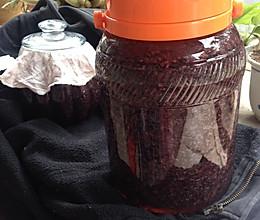 黑糯米酒的做法