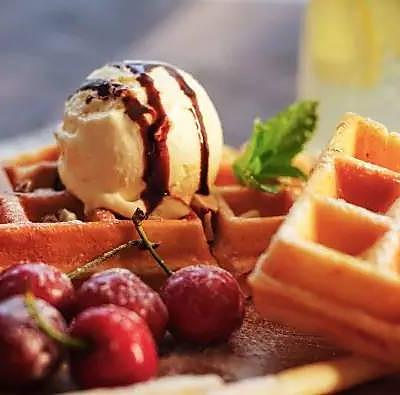 柠檬冰淇淋|日食记