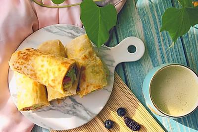 美味早餐面食——鸡蛋灌饼