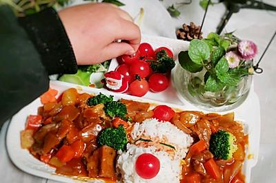 零厨艺也能做的咖喱牛腩饭