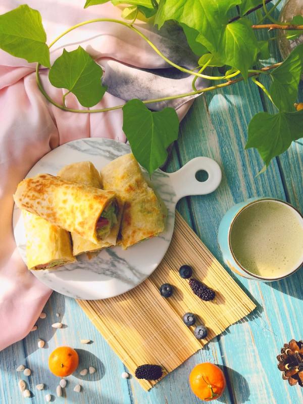 美味早餐面食——鸡蛋灌饼的做法