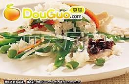 亚洲蔬菜饭的做法