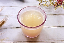 #硬核菜谱制作人#萝卜蜂蜜水的做法