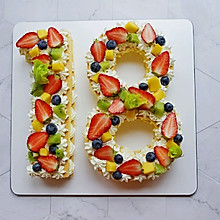 数学蛋糕(18岁生日蛋糕)
