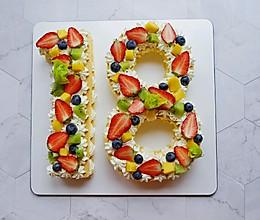 数学蛋糕(18岁生日蛋糕)的做法