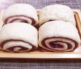 #名厨汁味,圆中秋美味#紫薯双色花卷的做法