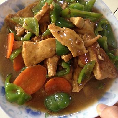 煎豆腐,家常豆腐