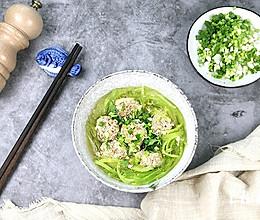 羊肉丸子翡翠汤的做法