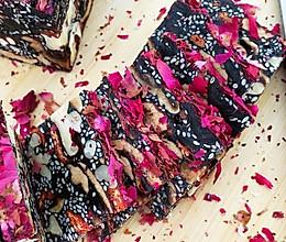玫瑰阿胶固元膏熬制方法的做法