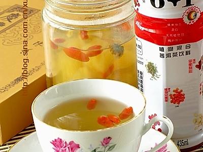 菊花枸杞水果茶的做法