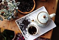 玄米桂花茶的做法