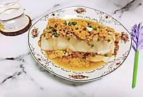 咸蛋黄蒸豆腐#合理膳食 营养健康进家庭#的做法