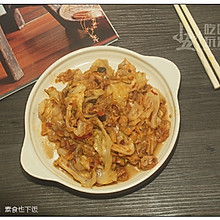 辣炒包菜:素食也下饭