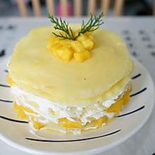 #餐桌上的春日限定#芒果千层蛋糕