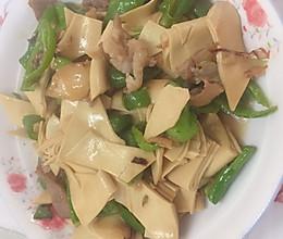 减肥餐-青椒豆皮的做法