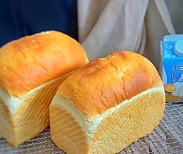 #蛋趣体验#白白的三明治吐司的做法