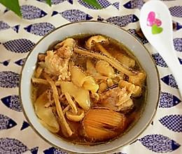 茶树菇花胶汤的做法