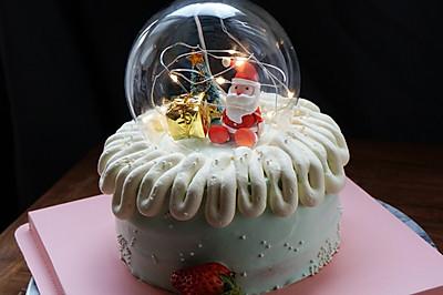 圣诞创意蛋糕#安佳烘焙学院#