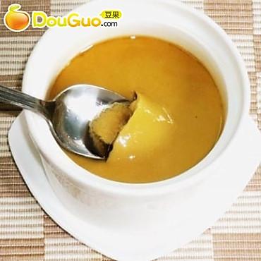 阿胶红糖蒸水蛋的做法