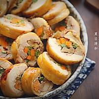 杂蔬核桃鸡肉卷#松下电烤箱美食#的做法图解21