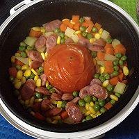 一个番茄电饭锅米饭的做法图解4