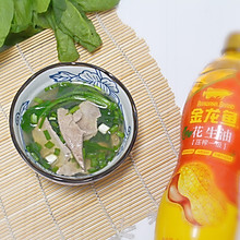 抗霾:猪肝菠菜汤#金龙鱼舌尖美味·油你掌勺#