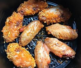 奥尔良烤鸡翅空气炸锅版的做法