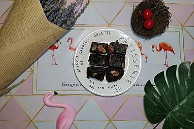 南瓜版布朗尼蛋糕(减脂菜单)