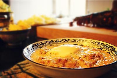 老上海的肉饼子炖蛋