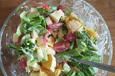 好吃健康的蔬果沙拉(可以做瑜伽餐)