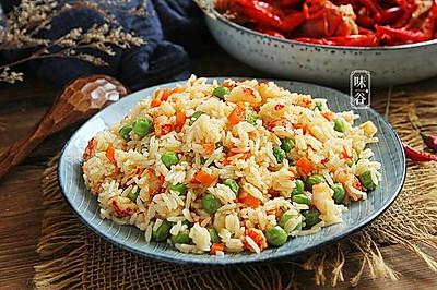 蒜香小龙虾炒饭