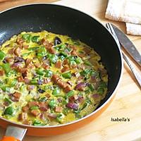 快手早餐——蔬菜烘蛋的做法图解5