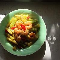 青笋炒虾仁的做法图解10