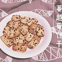 蔓越莓饼干(减糖)