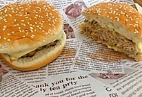 猪肉芝士汉堡的做法