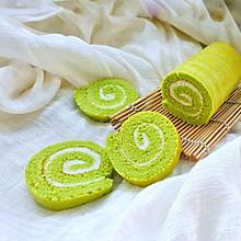 山药青汁蛋糕卷#松下多面美味#