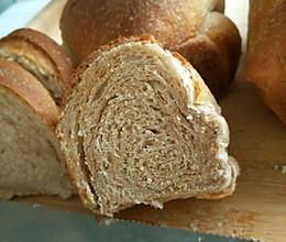 低糖全麦面包(适合糖尿病人( •̀∀•́ ))的做法