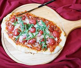 获赞10000分儿童餐:番茄奶酪披萨的做法