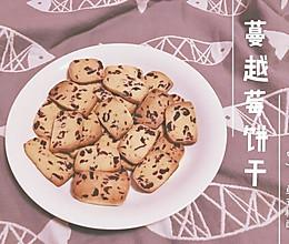 蔓越莓饼干(减糖)的做法